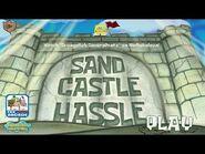 SpongeBob SquarePants- Sand Castle Hassle - Sand in your Pants (Nickelodeon Games)
