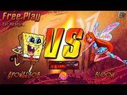 Super Brawl- Spongebob VS Bloom