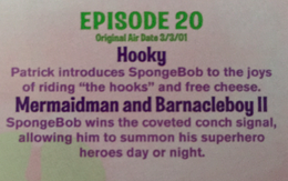 Hooky airdate on The First 100 Episodes 2009 DVD.png