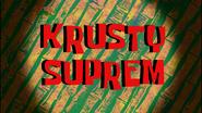 Krusty Suprem Friend Card by Egor