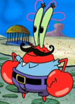 Mr. Krabs with a Mustache