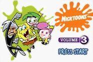 Nicktoons Collection Vol.3 Start up screen