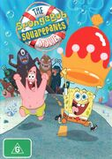 The SpongeBob SquarePants Movie Australian re-release DVD