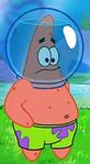 Patrick Wearing His Water Helmet