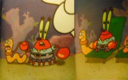 Mr. Krabs' pet worm in SpongeBob's Secret Valentine.png