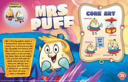 Mrs Puff character bio