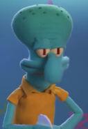 Squidward Puppet