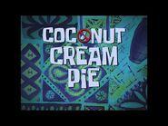 SpongeBob Music- Coconut Cream Pie -Reverb-