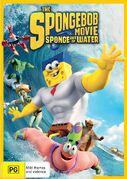 The SpongeBob Movie - Sponge Out of Water Australian DVD