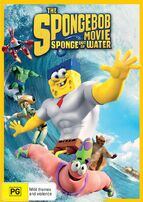 The SpongeBob Movie - Sponge Out of Water Australian DVD