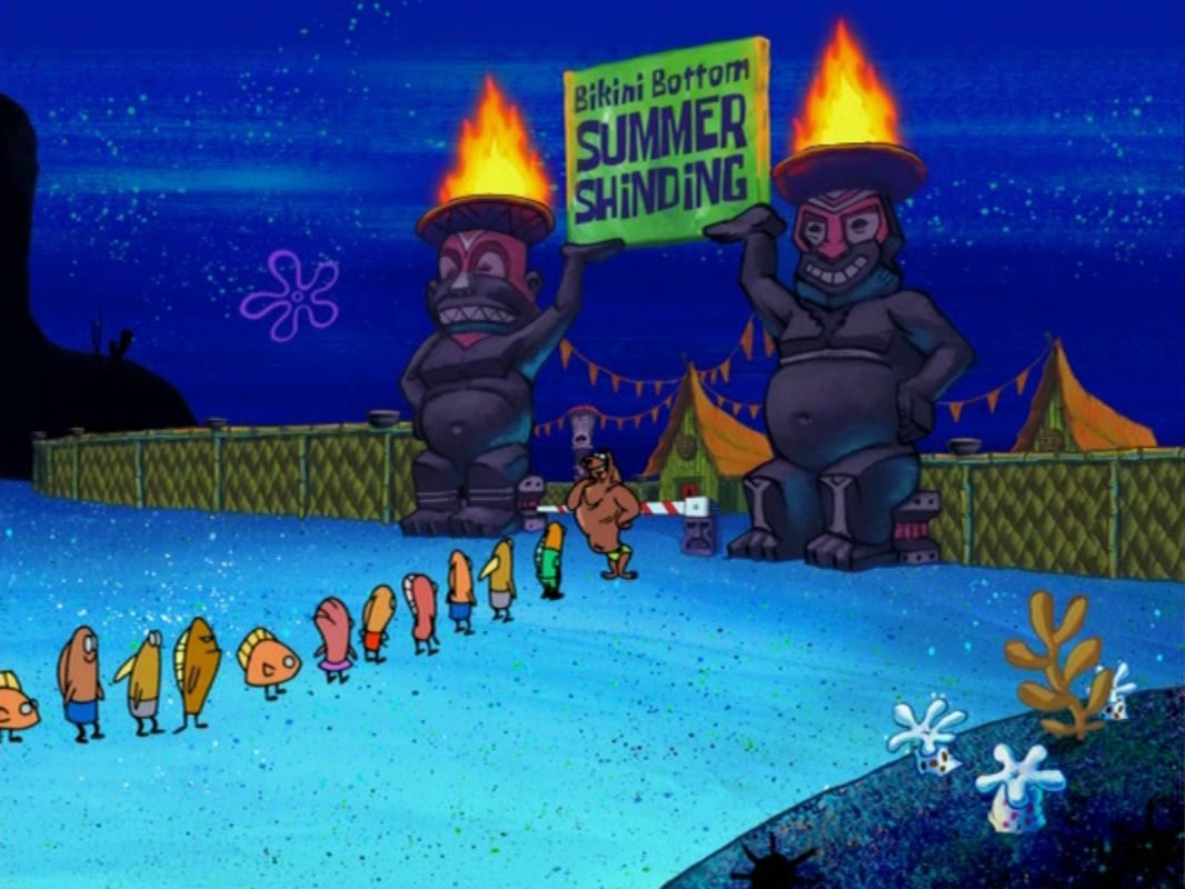Bikini Bottom Summer Shindig