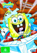 SpongeBob The Complete 4th Season Australian DVD