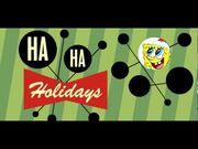 Ha Ha Holidays Nickelodeon Branding banner