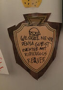 We shall never deny a guest, Sven the most ridiculous request Creation