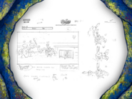 Grandpappy the Pirate storyboard panels-1