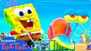 "SPONGEBOB - AMICI IN FUGA (2020) TRAILER VO ""World Oceans Day"""