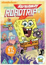SpongeBob's Runaway Roadtrip UK DVD