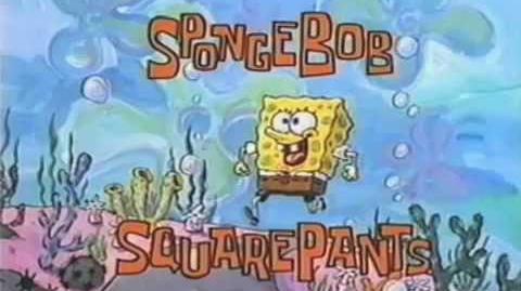 SpongeBob SquarePants Original Theme Clip 1997