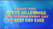 Nickelodeon Stephen Hillenberg Tribute Bumper