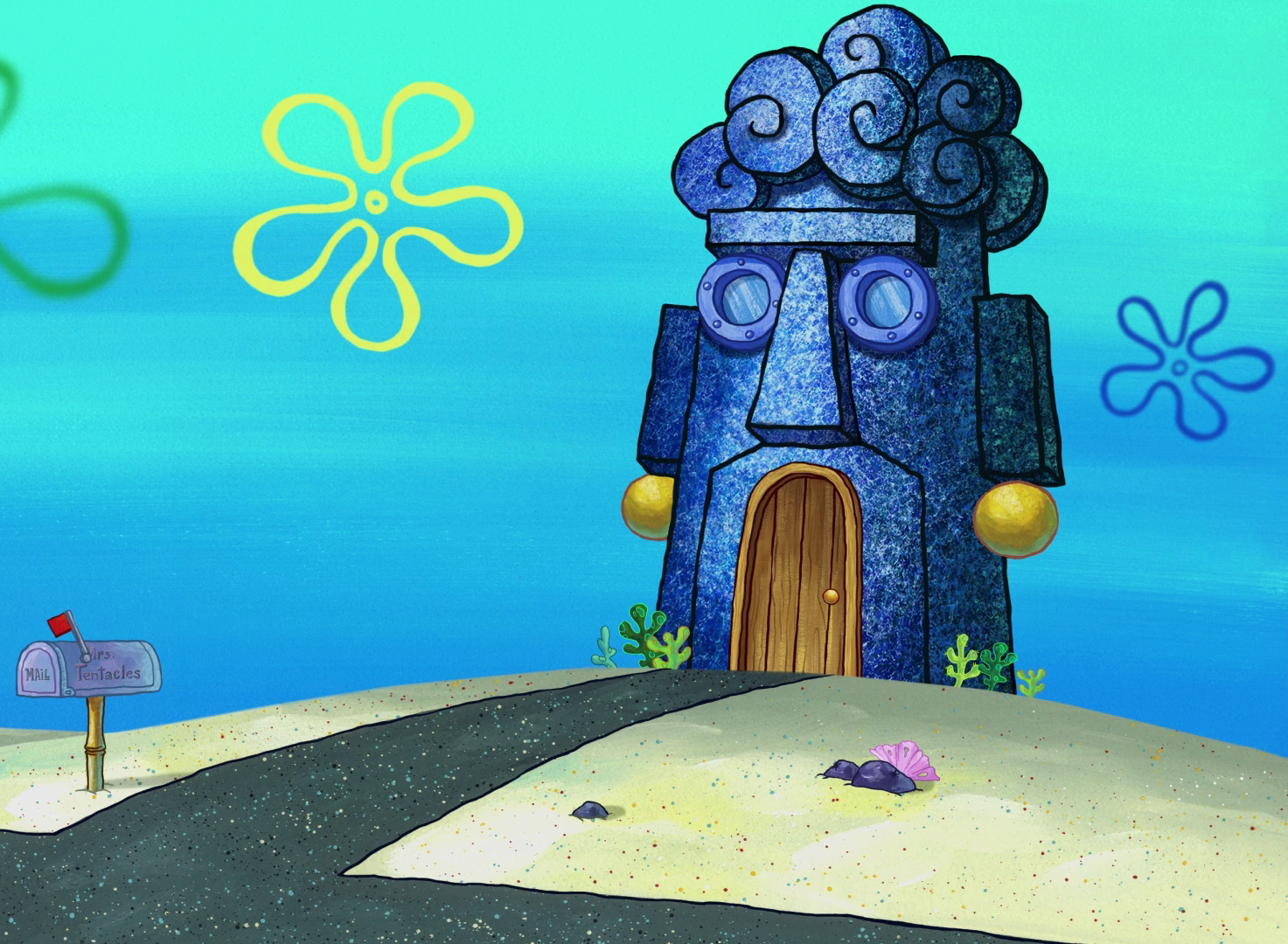 Mrs. Tentacles' house