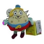 Nickelodeon mini Mrs Puff keychain