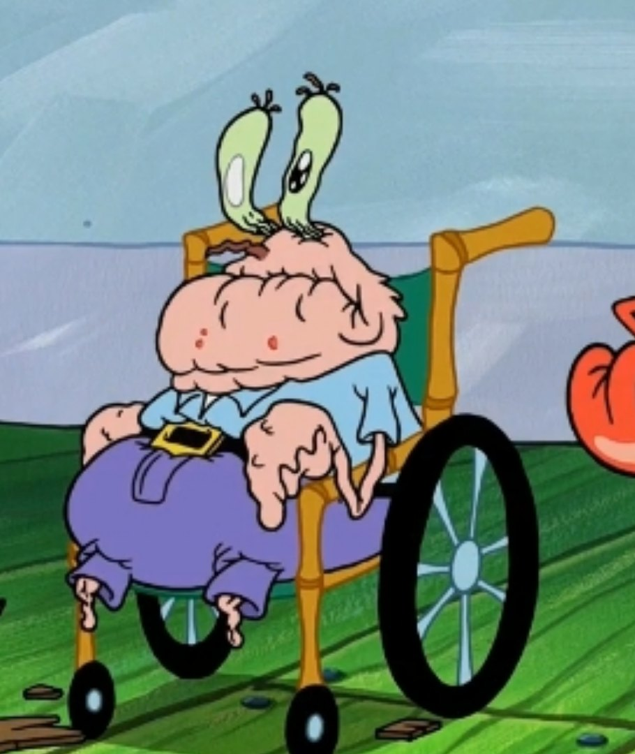 Great Grandpa Krabs