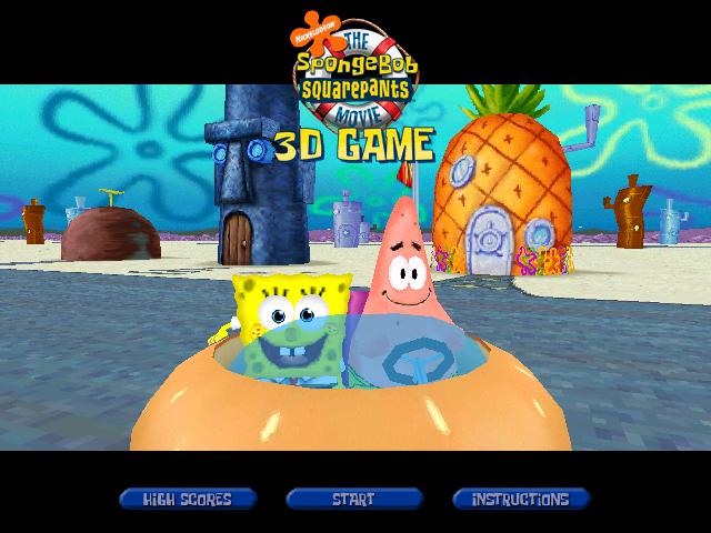 The Spongebob Squarepants Movie 3d Game Encyclopedia Spongebobia Fandom