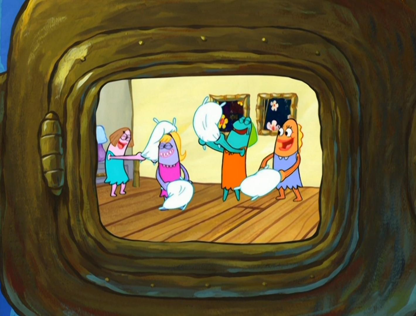 Teenagers In Slumber Party Zombie Attack Encyclopedia Spongebobia Fandom