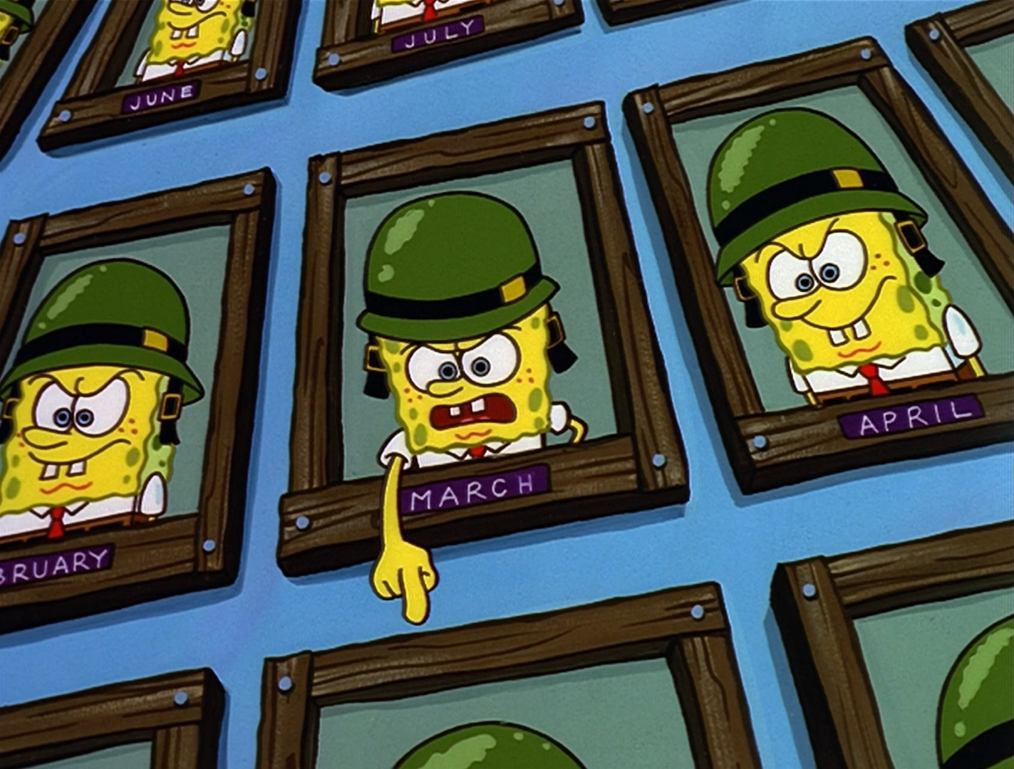 Employee of the Month SpongeBobs