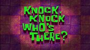 Knock Knock, Who's There