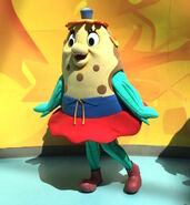 Mrs. Puff walk-around character