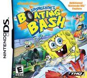 SpongeBob's Boating Bash DS cover