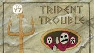 SpongeBob Trident Trouble - Title card