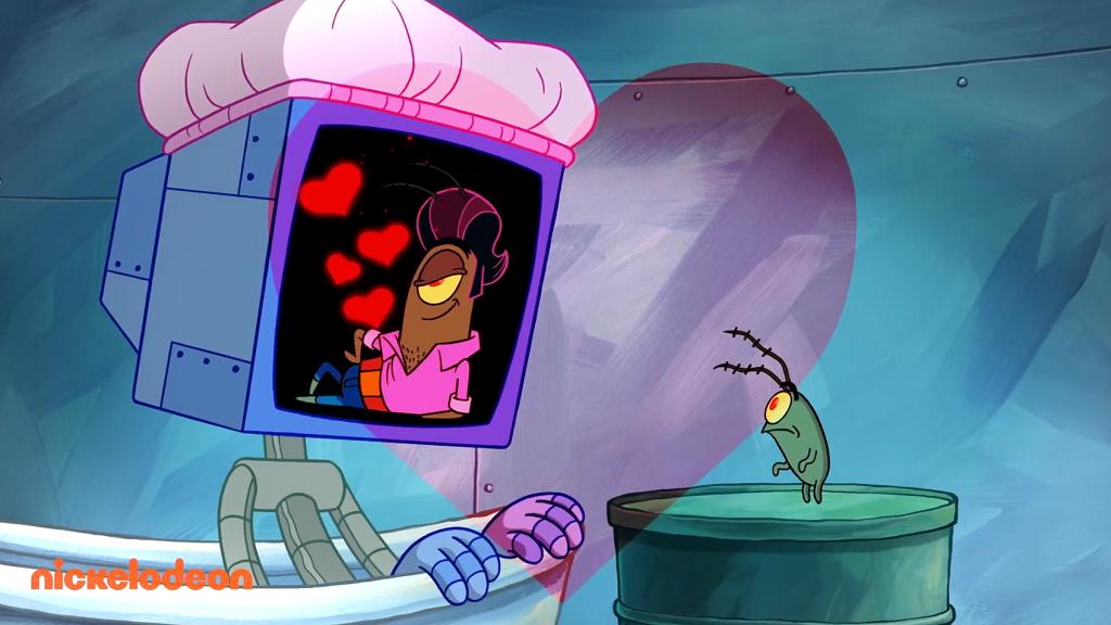 Plankton & Karen Love Song