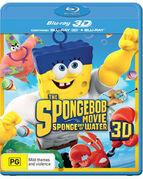 The SpongeBob Movie - Sponge Out of Water Australian 3D Blu-ray