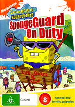 SpongeGuard on Duty original Australian DVD