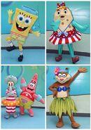 SpongeBob-summer-mascots