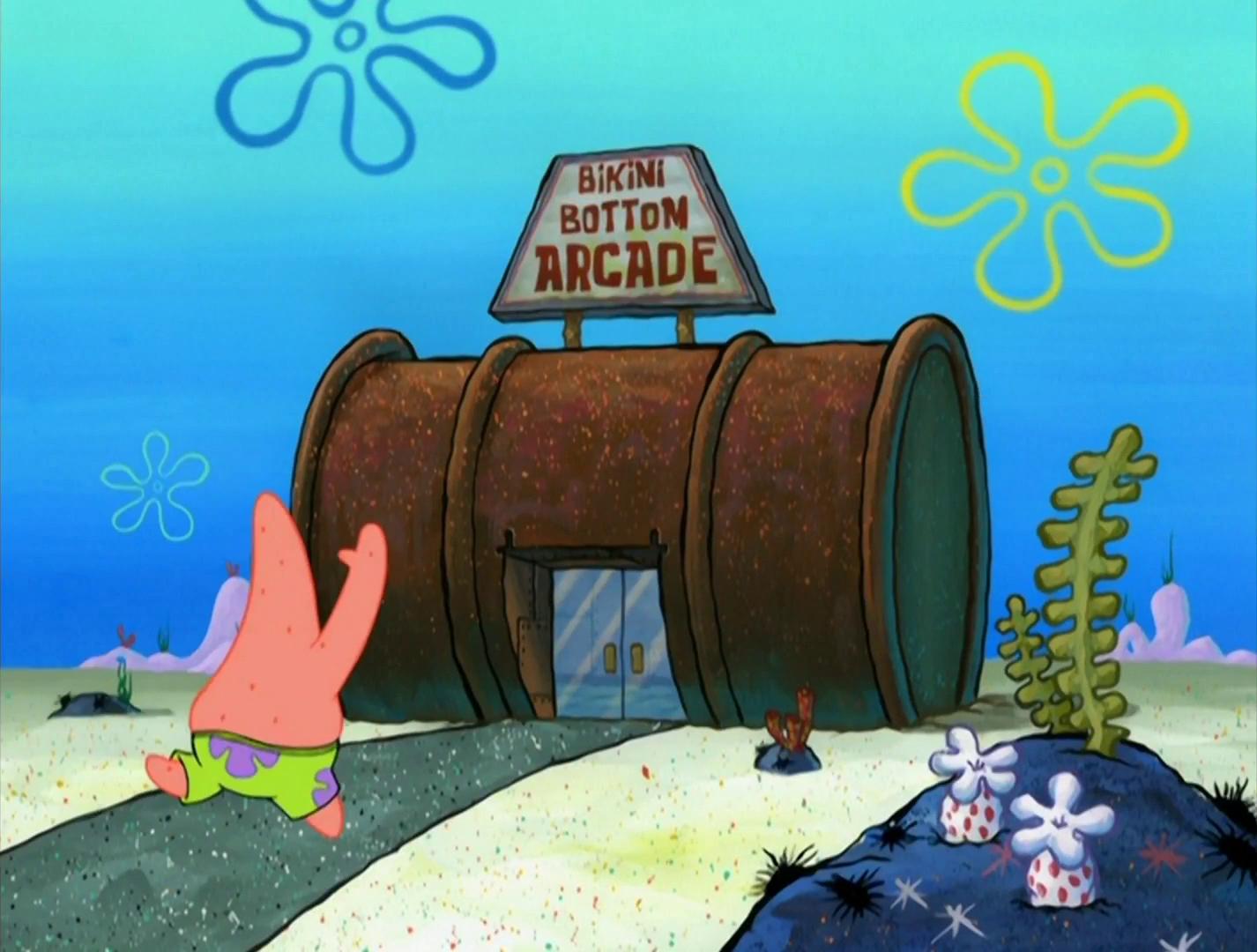 Bikini Bottom Arcade