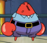 Mr. Krabs Without Eyes