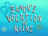 Sandy's Vacation in Ruins/gallery