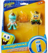 Imaginext SpongeBob Movie Squidward and SpongeBob