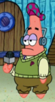 Patrick Wearing His Golf Uniform & Headset