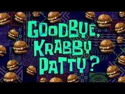 "Nickelodeon 2017 ""Frozen Krabby Patty"" Screenbug (Goodbye, Krabby Patty?)"