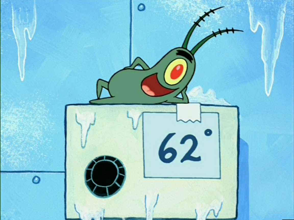 Krusty Krab thermostat