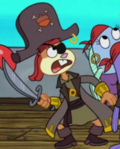 Sandy the Pirate squirrel