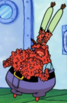 Mr. Krabs with Hives