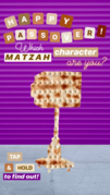 Nickelodeon's Instagram story - Passover matzah character - Karen