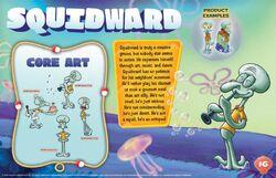 Squidward character bio