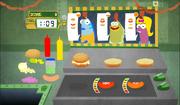 SpongeBob, You're Fired! (online game) - Weenie Hut job