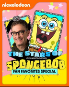 The Stars of SpongeBob Fan Favorites Special cover